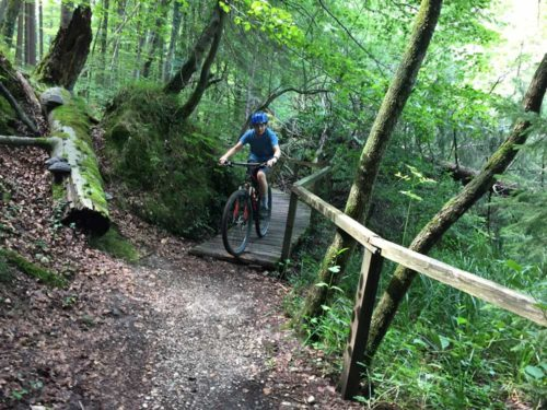 Mountain Bike MTB Adventure Tour near Munich Alps