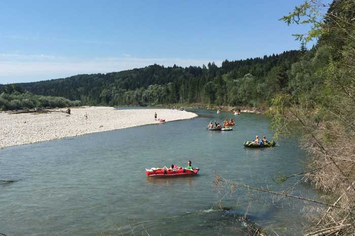Float down the River Isar to Munich Adventure Outdoors