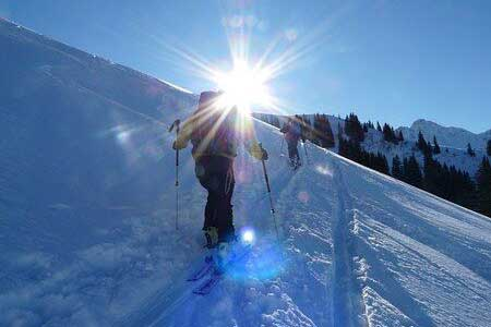Day Tour Ski Alpine Backcountry from Munich