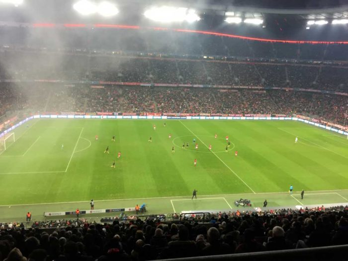 Allianz football Arena sightseeing FC Bayern Munich soccer Practise activity